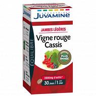 Juvamine vigne rouge cassis 30 gélulles végétales  19g