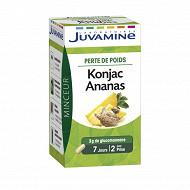 Juvamine phyto perte de poids konjac ananas 42 gélules 28g