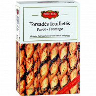 Eric Bur torsades pavot/fromage 100g