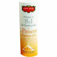 Eric Bur sel de Guérande au piment d'Espelette aoc 125g