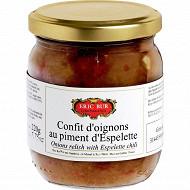 Eric Bur confit d'oignons au piment d'Espelette 220g