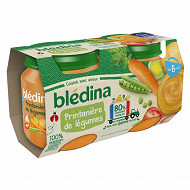 Bledina pots printanière de légumes 2x130g