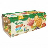Bledina pots jardinière légumes poissons féculents poulet 8x200g