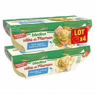Bedina idm bols saumons et légumes dès 8 mois 4x200g