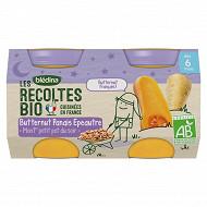 Bledina les recoltes bio butternut panait epeautre 260g