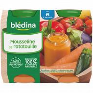 Bledina Pots  Mousseline De Ratatouille 2X200G 6 mois