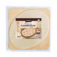 Schneider 4 fonds ovales pour tartes flambées 33x27cm 440g
