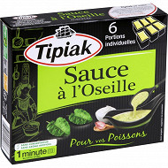 Tipiak sauce à l'oseille x6 300g