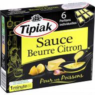 Tipiak sauce beurre citron 6x50g