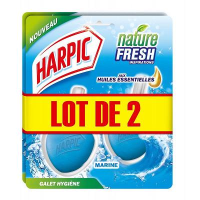 Harpic Harpic galet marine lot de 2