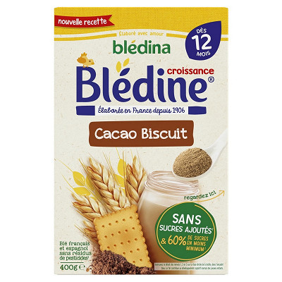 Blédina Bledina bledine choco biscuit 400g