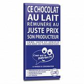 C'est qui le patron ?! chocolat au lait familial 40% 100g