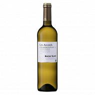 Roche mazet les accords chardonnay viognier blanc 75cl 13%vol