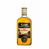 Clan Cambell Caribbean spiced 70cl 35%vol