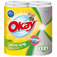 Okay extra long 4=6 rouleaux