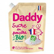 Daddy bio sucre en poudre doypack 750g
