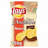 Lay's veritable chips a l'ancienne 150g