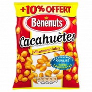 Benenuts cacahuètes grillées salées 410g+10% offert