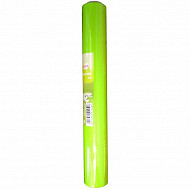 Cora chemin de table soft 4.80mx0.38m vert anis