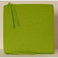 Anjosa galette carrée 38x38 cm epaisseur 4.5 cm vert anis dm