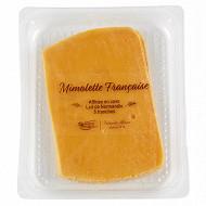 Mimolette jeune barquette 112g frais emballé