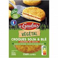 Le Gaulois Végétal: Croques soja et blé, légumes du soleil 2x100g