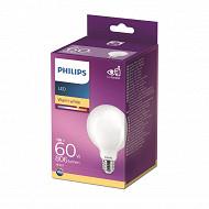 Philips ampoule LED classic 60W G93 E27 WW NON DIMABLE boîte de 1
