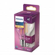 Philips ampoule LED classic 60W A60 E27 WW CL ND RF boîte de 1