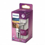 Philips ampoule led classic 60W R63 E27 WW 36D RF D boite de 1