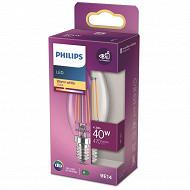 Philips ampoule LED classic 40W B35 E14ww cl nd boîte de 1