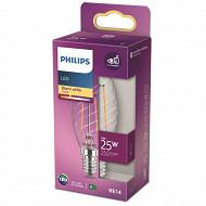 Philips ampoule LED Classic 25W ST35 E14 WW CL ND RF boîte de 1