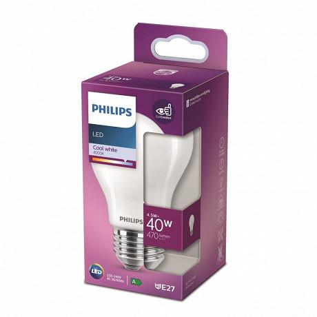 Philips ampoule LED Classic 40W A60 E27 CW FR ND boîte de 1