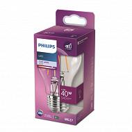 Philips ampoule LED classic 40w A60 E27 cw cl nd