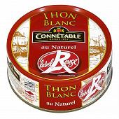 Connétable 1/5 thon blanc germon au naturel Label Rouge 120g