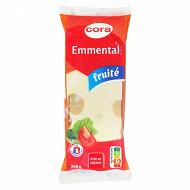 Cora emmental moelleux portion français au lait pasteurisé 250g