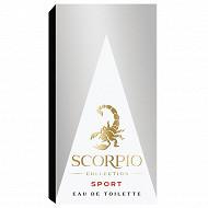 Scorpio eau de toilette collection sport 75ml