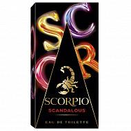 Scorpio scandalous eau de toilette vaporisateur 75ml