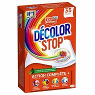 Décolor stop lingettes anti-décoloration X35