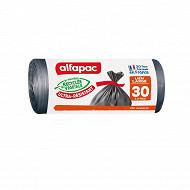 Alfapac sacs x20 maxi poids 30l