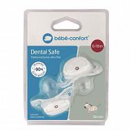 Sucette dental safe - silicone 6/18m - x2 Bébé Confort
