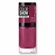 Colorshow vernis à ongles N°20 blush berry NU