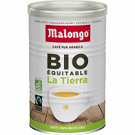 Malongo la tierra café moulu bio max havelar 250g