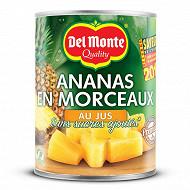 Del monte ananas au jus 3/4 350g net egoutté
