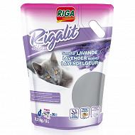 Riga riga'lit silica lavande 2.2kg pour chat