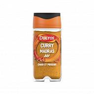 Ducros flacon curry madras fort n°5 45g