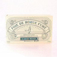 Albert Ménès foie de morue fumé 110g