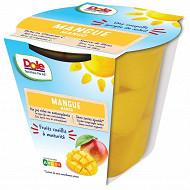 Dole mangue au jus 198g