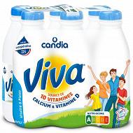 Viva lait vitaminé à 1.2%mg bouteille 6x1l