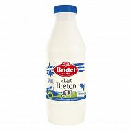 Bridel lait pasteurisé demi-écrémé 1l