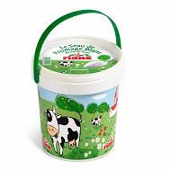 Rians fromage blanc frais au lait pasteurise ferme et doux 6.8%mg 750g